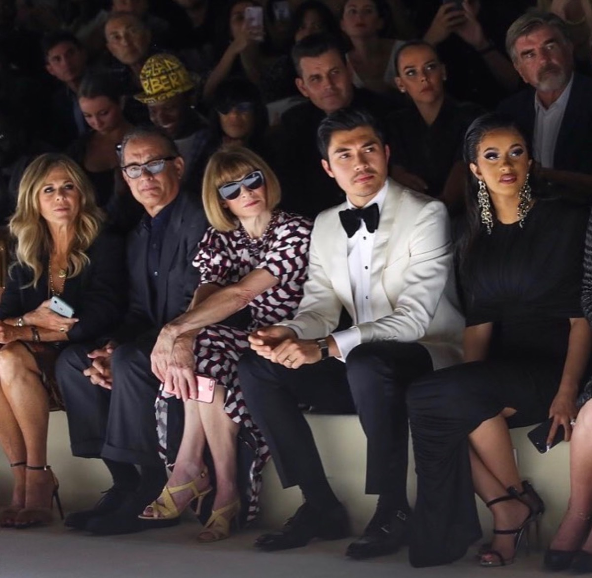 Front Row at Tom Ford NYFW