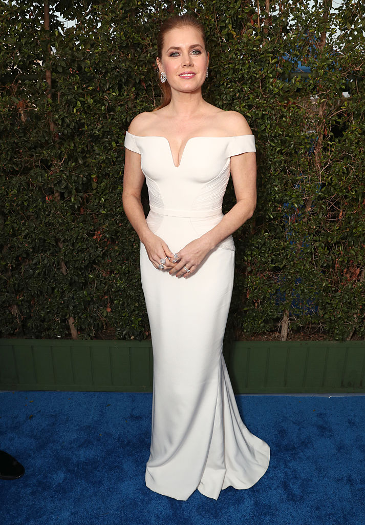 Amy Adams in White