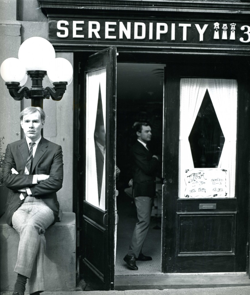 Andy Warhol at Serendipity 3