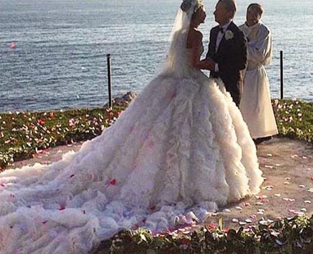 Giovanna Battaglia's Fairy Tale Capri Wedding