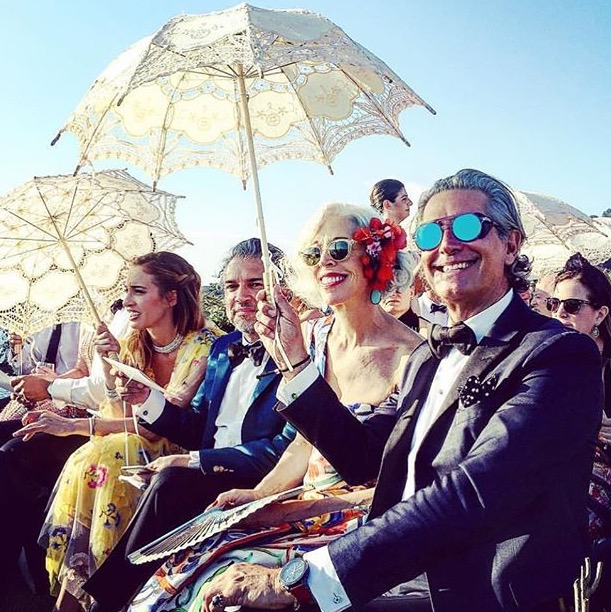Giovanna Battaglia's Fairy Tale Capri Wedding- Guests