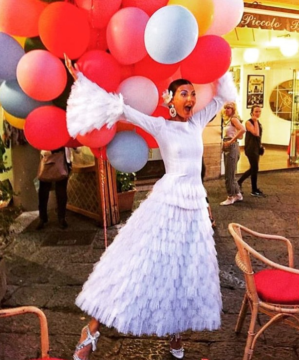 Giovanna Battaglia's Pre-Wedding Celebration