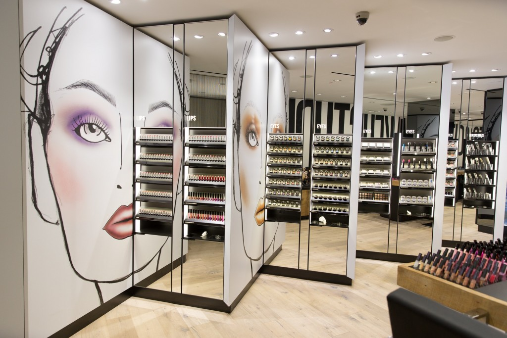 Mac Cosmetics Concept Store- NYC
