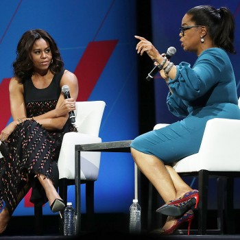 Michelle Obama Oprah Winfrey Unoted States Of Women