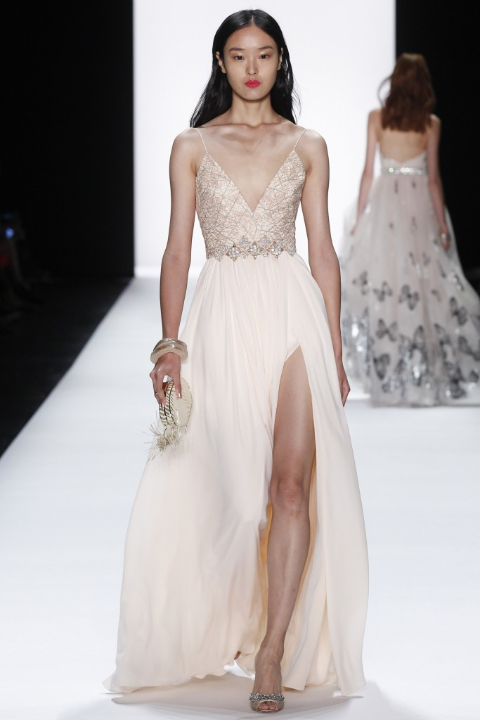 Badgley Mischka SS16 NYFW Runway