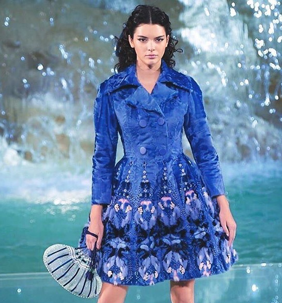 Fendi Celebrates 90 Years at Fontana Di Trevi in Rome Legends & Fairytales