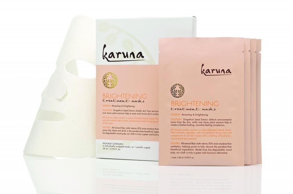 Karuna Brightening Sheet Masks