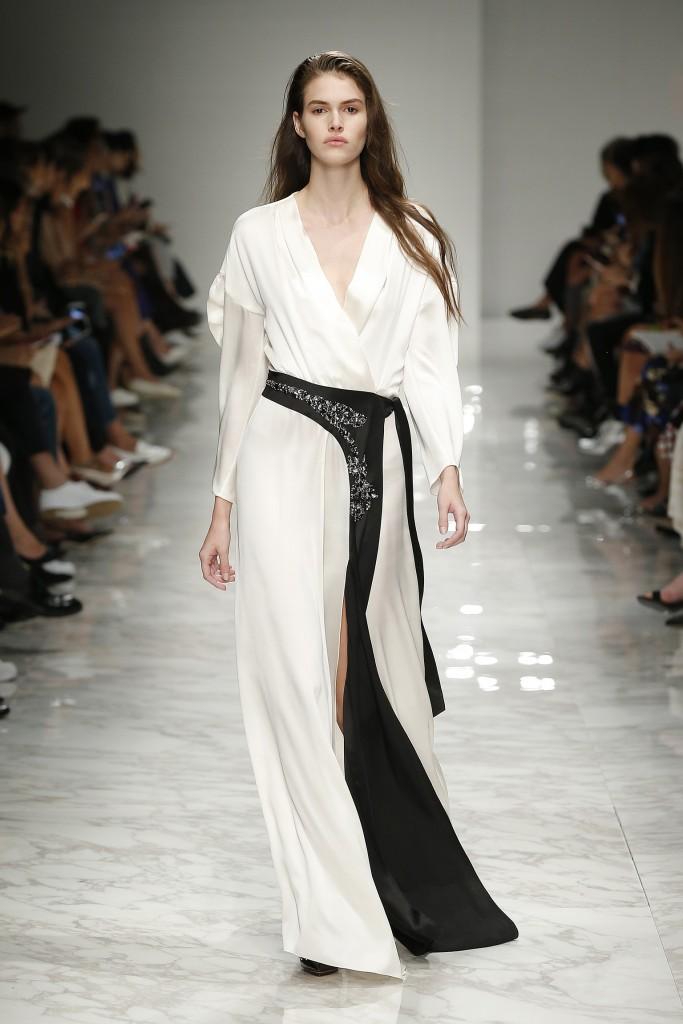 Milan Woman Fashion Week Spring/Summer 2016 Blumarine show