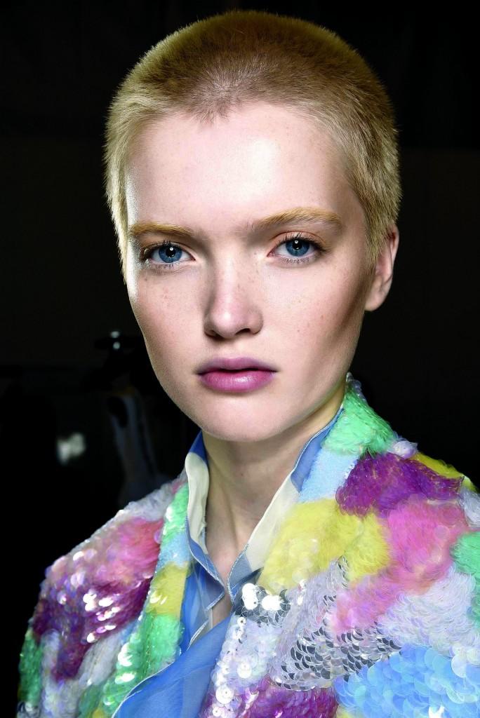 Blumarine SS16- Make up by Mac Cosmetics