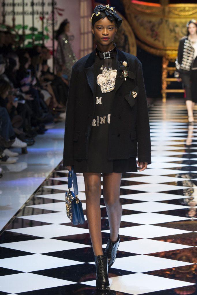 Dolce & Gabbana Fall 16- MFW