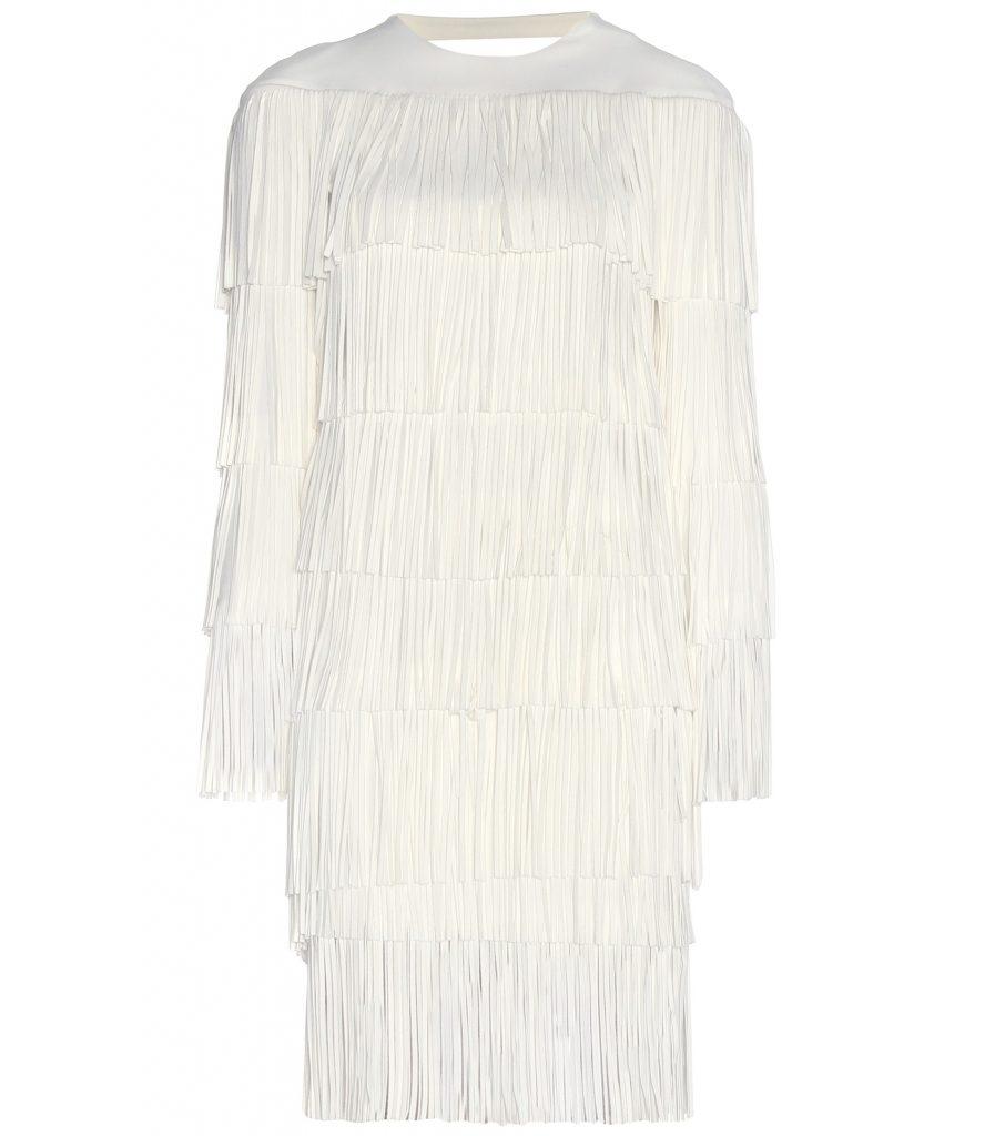 Tom Ford White Fringe Dress