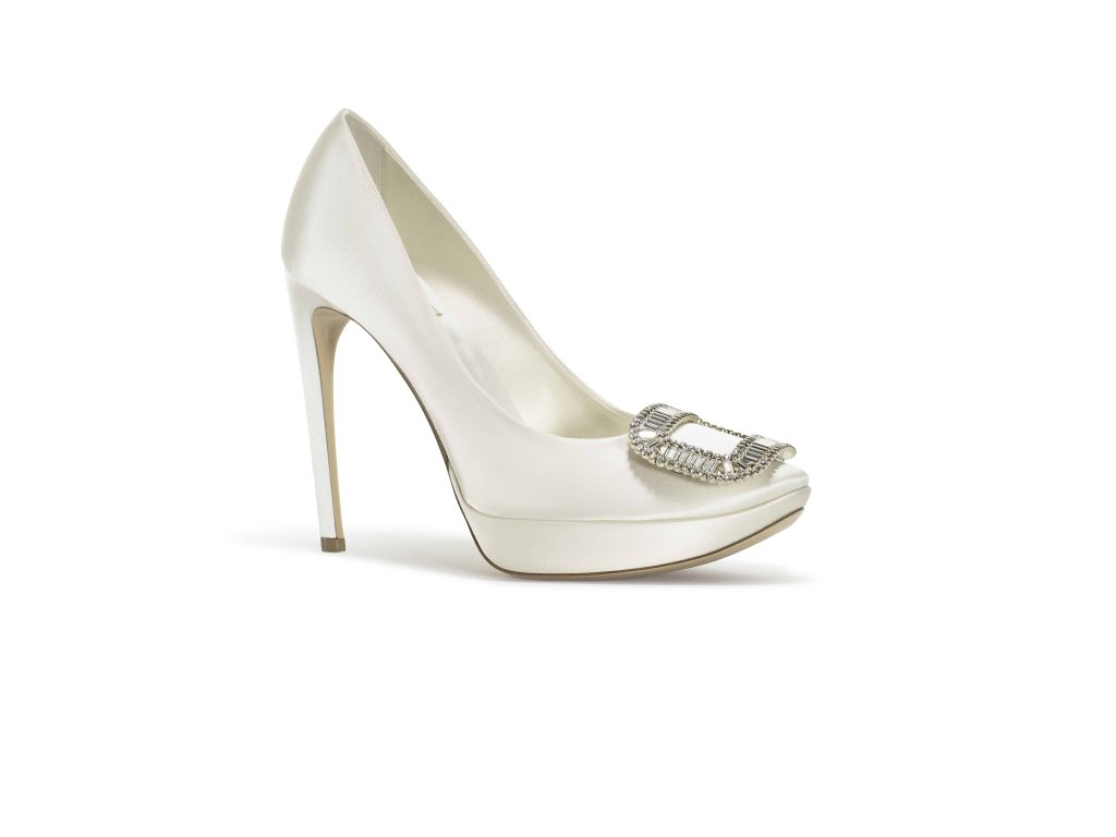 Roger Vivier Bridal Collection Limelight Boucle Strass