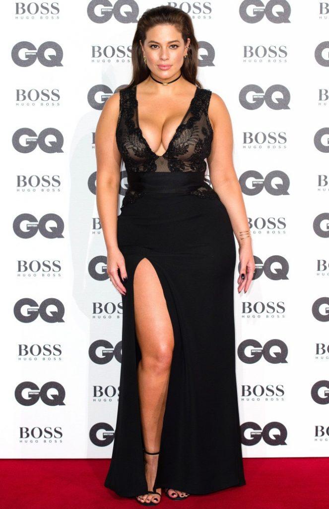 Ashley Graham at the GQ Style Awards