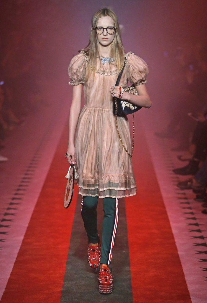 Gucci Runway SS17 Fashion Dresses