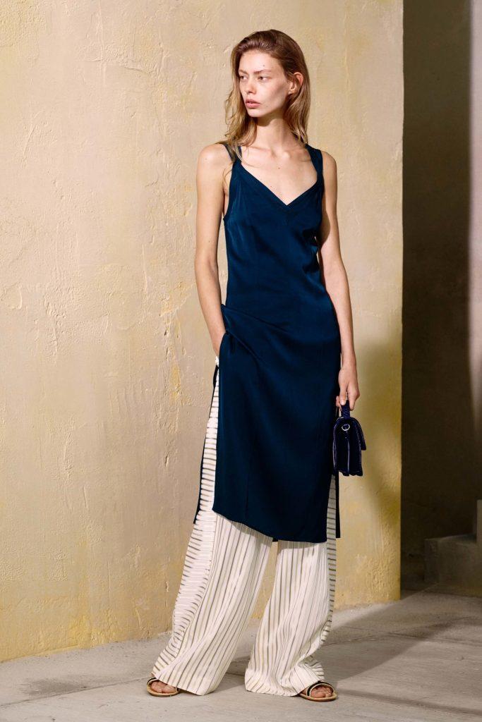 Elizabeth & James SS17 Dress over pants fashion trend drousers
