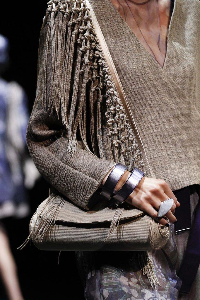 Fringe Bag Giorgio Armani SS17