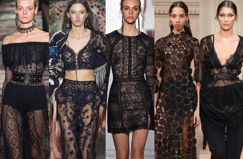 How To Wear Black Lace