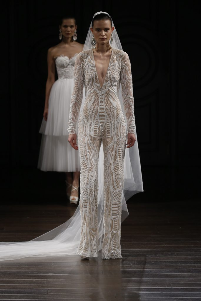 Naeem Khan Bridal- SS17 Wedding Trends runway bride