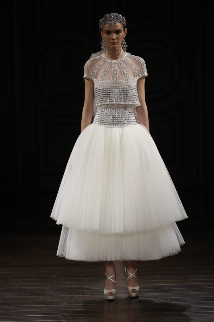 Naeem Khan Bridal - SS17 Bridal wedding dress trend ruffles