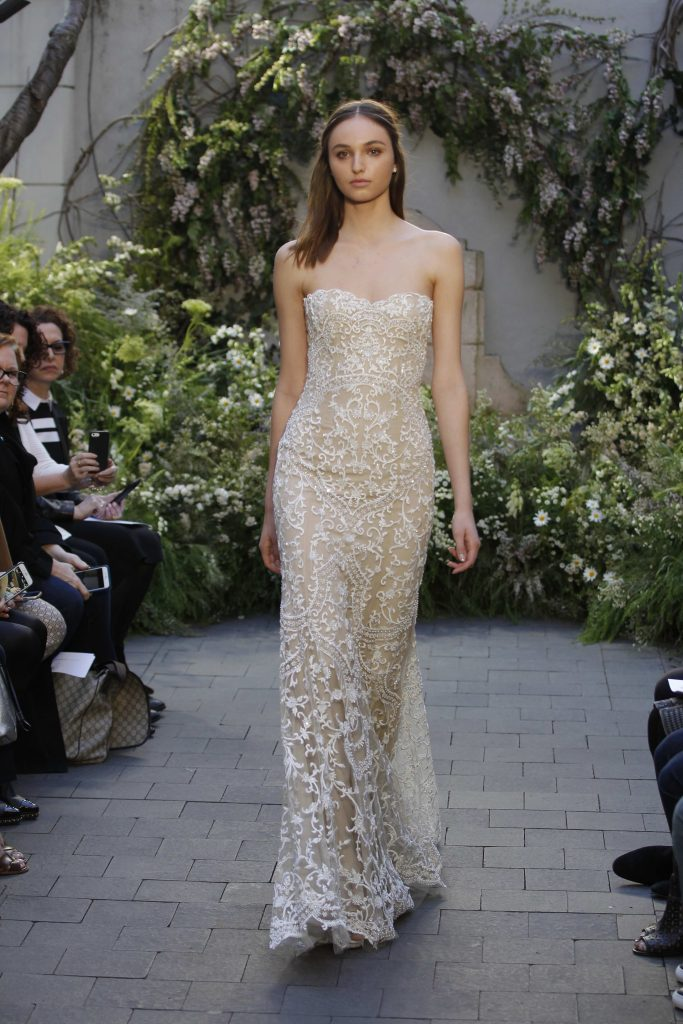 Monique Lhuillier Bridal SS17 Wedding dress bridal trends
