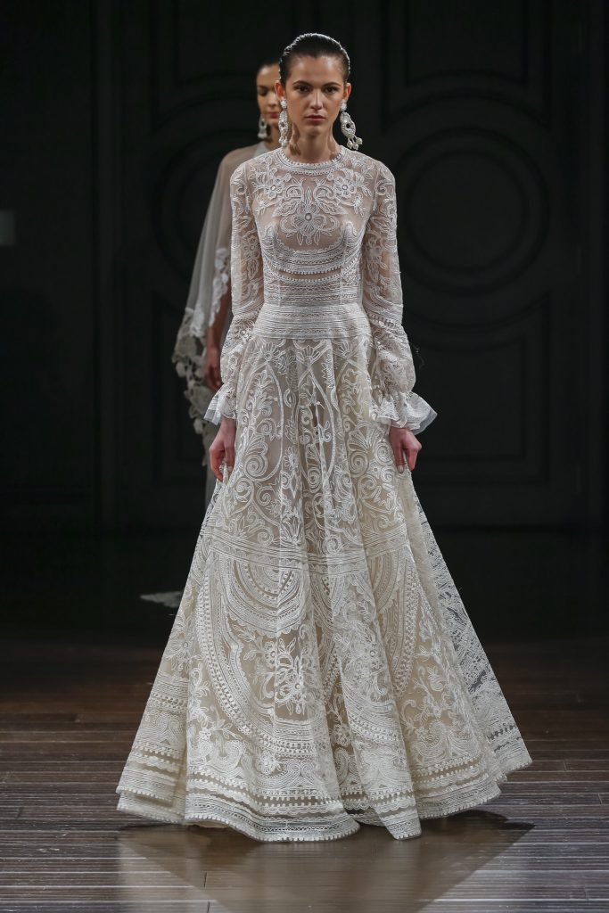Naeem Khan Bridal- SS17 Wedding dress bridal trends